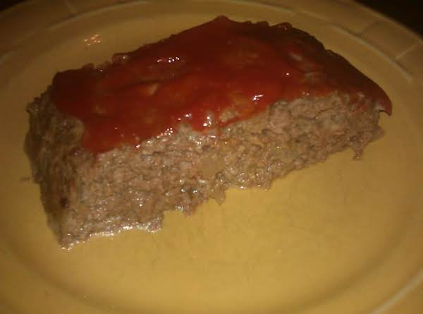 Delicious And Moist Meatloaf!