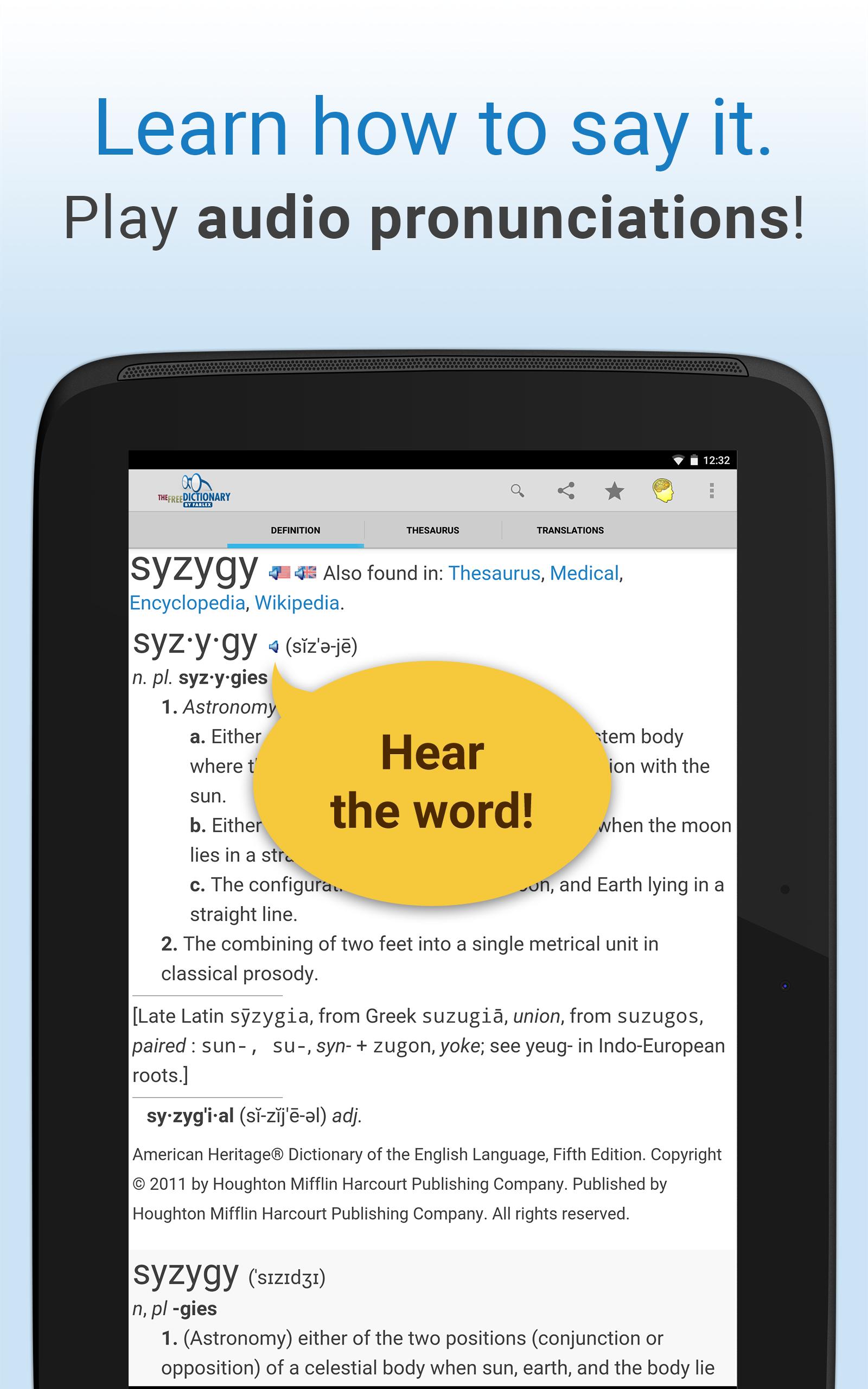 Dictionary screenshot #8