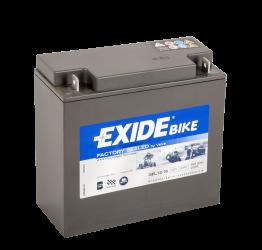 Tudor Exide MC-Batteri 16Ah Gel 80016 lxbxh=180x75x165mm