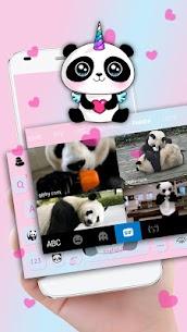 Cute Panda Keyboard Theme 4