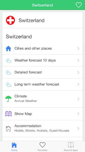 スイスの天気 旅行