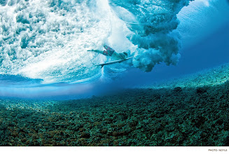 Photo: Photo of the Day: Parker Coffin, Tahiti. Photo: Noyle #Surfer #SurferPhotos