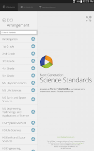 Next Gen Science Standards- screenshot thumbnail