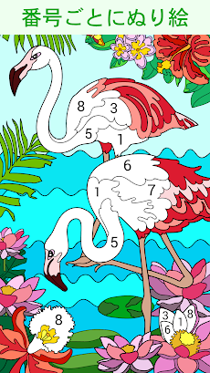 Happy Color – 数字で塗り絵。数字で色ぬりえのおすすめ画像1