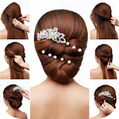 Tải hướng dẫn kiểu tóc APK