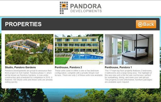 Pandora Developments  screenshots 2