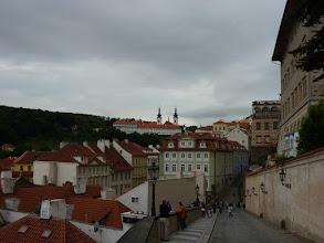 Photo: Prag, Weg zur Burg