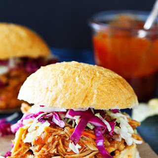 Slow Cooker BBQ Chicken.