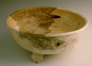 Photo: Jerry Mauch - Footed Bowl - Big Leaf Maple