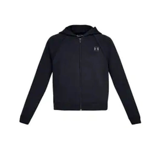 Under Armour Rival Fleece Full-Zip Dam Black Stl L