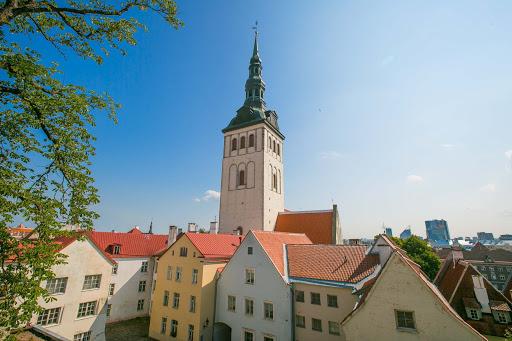 tallinn-st-nicholas-church-and-museum.jpg - St. Nicholas Church and Museum towers over Old Tallinn, Estonia.