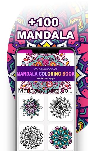 Mandala Coloring Book for Free screenshot 3