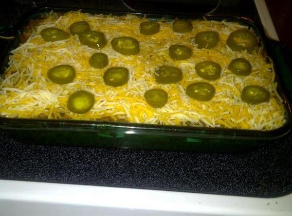 Mexican Lasagna Chip Dip Recipe
