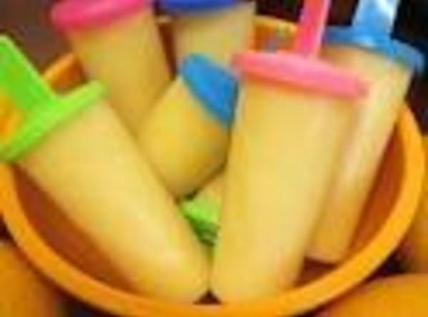 Orange Cream Popsicles Recipe