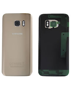 Galaxy S7 Back Cover Gold