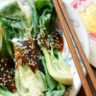 Bok Choy with Oyster Sauce.
