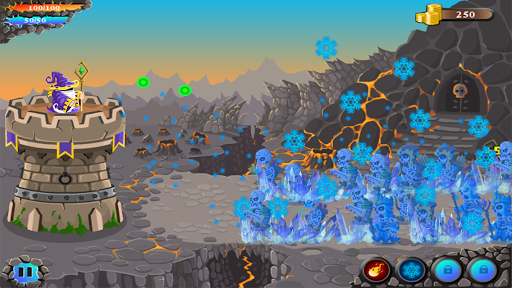 shooting defense:archery castle bowman defender screenshot 3
