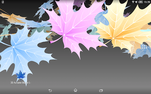 3D Maple Leaves Free- screenshot thumbnail