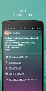 GIET Rajahmundry- screenshot thumbnail