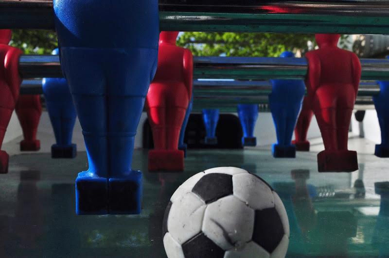 calcio balilla, metafora di vita di dariet