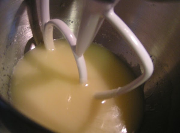 In a sauce pan, combine butter and sugar. Cook over a medium heat, stirring...