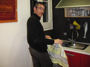 Photo: Christian, l'art de faire la vaisselle