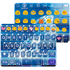 Blue Diamond Emoji Keyboard
