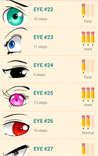 How to Draw Anime Eyes - náhled