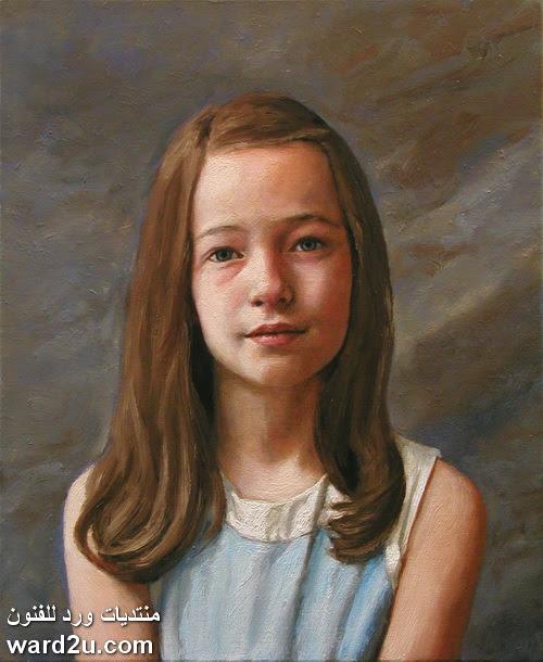 الواقعية الكلاسيكية فى لوحات للفنان Kevin Lewellen