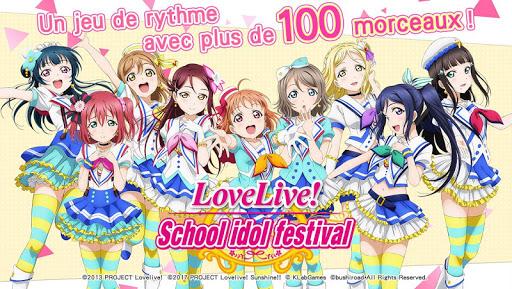 Love Live! School idol festival - Jeu de rythme captures d'u00e9cran 1