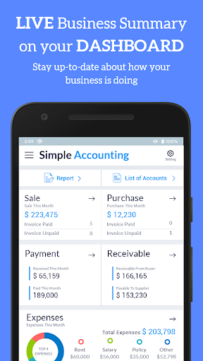Accounting Bookkeeping - Invoice Expense Inventory 1.75 screenshots 2