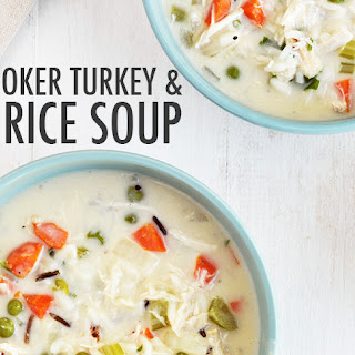 Creamy Turkey and Rice Soup