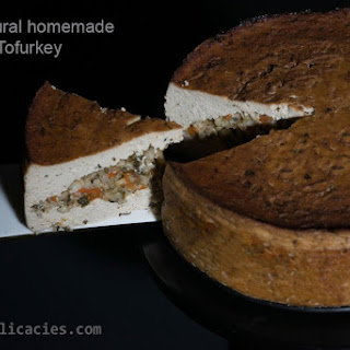 All-Natural Homemade Tofurkey Recipe
