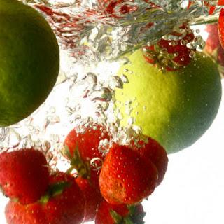 Healthy Strawberry Limeade.
