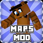 Maps + Mod Fnaf for Minecraft