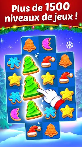 Cookie de Noël : le jeu d'association du Père Noël  captures d'écran 1