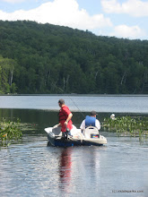 Photo: Boating and Fishing at Ricker Pond State Park
