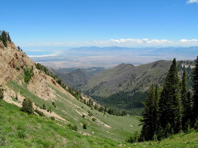 Above Dry Lake Fork
