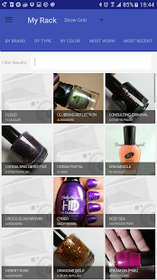 Nail Polish Rack- screenshot thumbnail