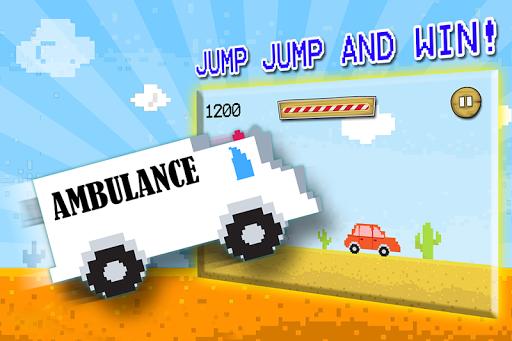 Jumpy Ambulance Racing Driving