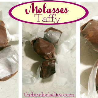 Molasses Taffy!