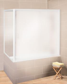 Paroi latérale pour pare-baignoire coulissant Impériale, 150 cm