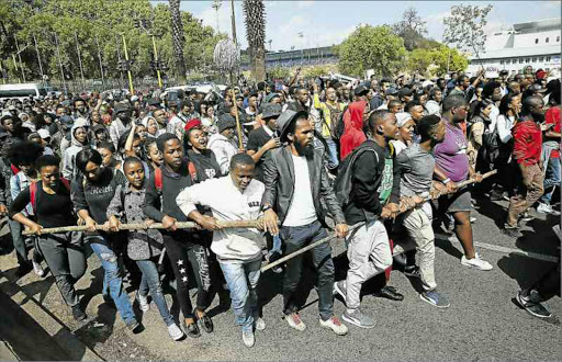Wits University has announced a fee increase that is expected to be met with violent protests.