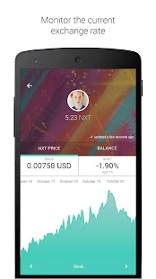 Nxt Wallet- screenshot thumbnail