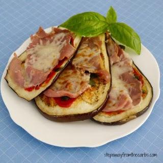 Italian Eggplant Cheese Melts