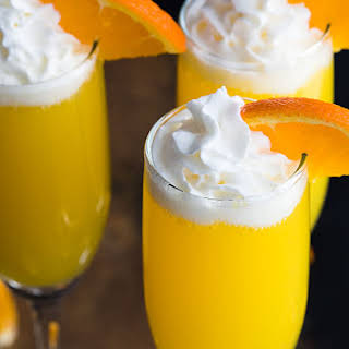 Vodka Creamsicle Mimosas.