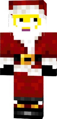 A Christmassy skin with a bright yellow face!