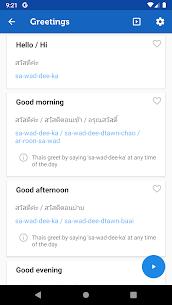 Learn Thai Pro – Phrasebook 3.4.0 Mod APK Download 2