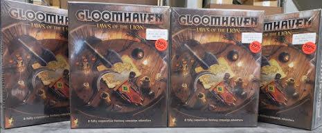 Gloomhaven Jaws of the Lion 20% rea (Skadat ex)