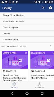 Cloud Academy - náhled